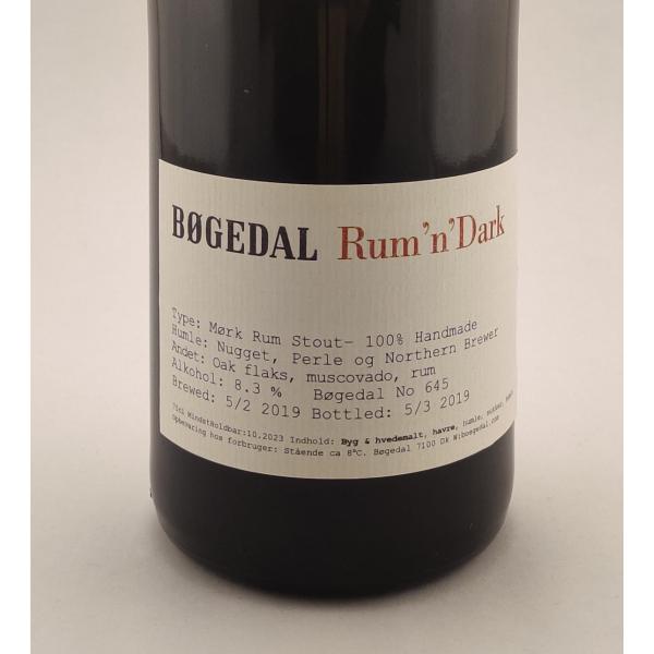 Bøgedal-Rum-n-Dark